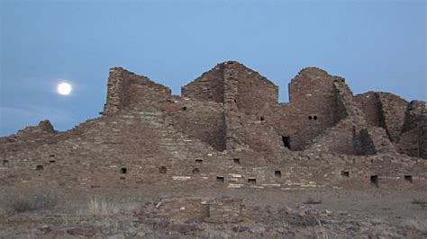 chaco culture national historic park and b roll