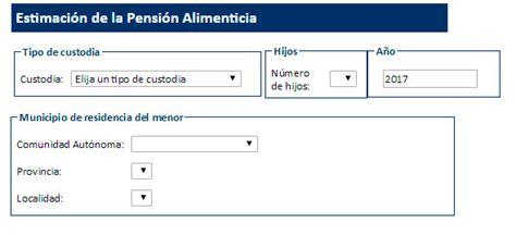 calculo de pension de alimentos sosamarina consulting