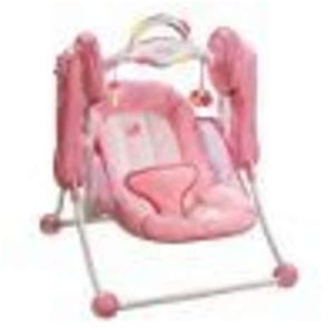 best travel baby swing summer infant little pink kisses travel swing 10876711