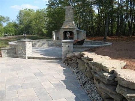 backyard patio stone stone patios walls walkways and steps seattle