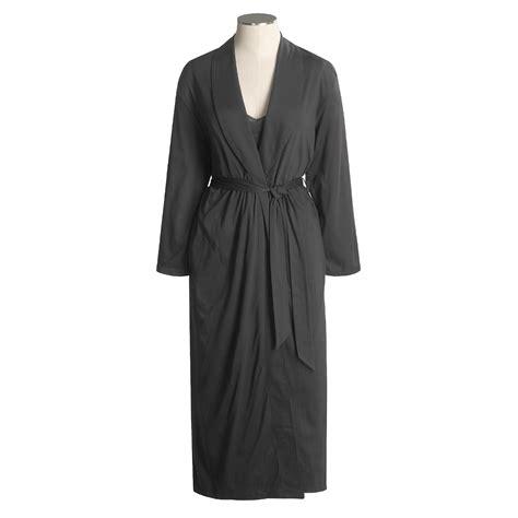 cotton knit robe hanro interlock knit robe for 1161s save 42