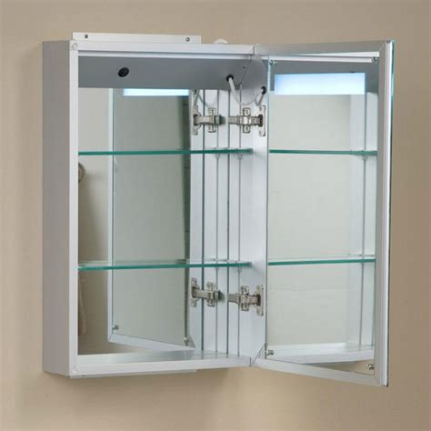 lighted bathroom mirror cabinet brilliant aluminum medicine cabinet with lighted mirror