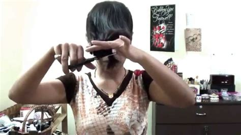 video on cutting long hair into a short shag doing it yourself indian long hair diy how to cut hair in layers long hair