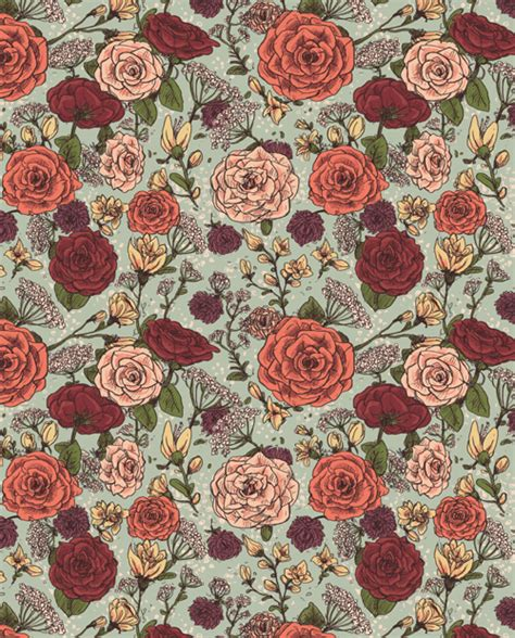 floral pattern wallpaper tumblr still not enough goats commissioned floral pattern for