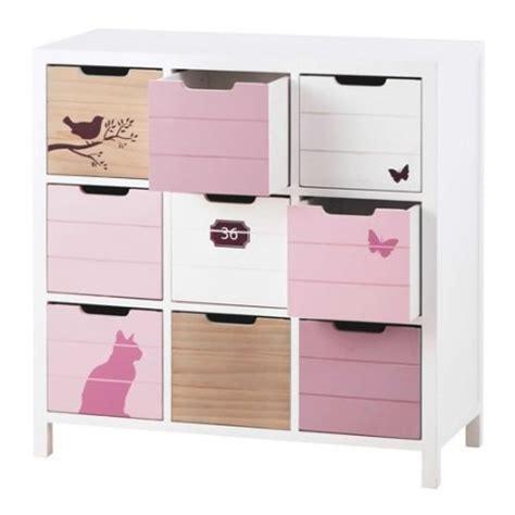 Incroyable Meuble De Rangement Enfants #3: .meuble_fille_en_bois_avec_9_casiers_de_rangement_m.jpg