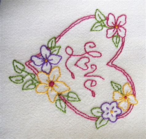 embroidered pillowcases free embroidery patterns
