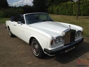 Rolls Royce 1977 1977 Rolls Royce Corniche 11 Drophead Coupe