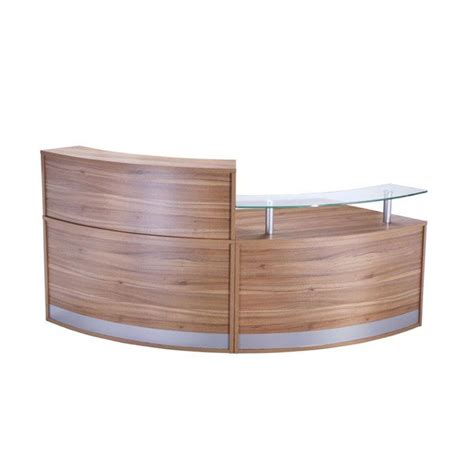 Modular Reception Desk Modular Reception Desk With Glass Sign In