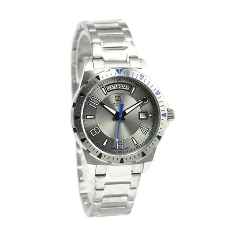 Jam Cantik Zeca 115l Ss jam tangan pria zeca jualan jam tangan wanita