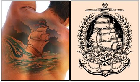 16 beautiful ship tattoo designs and their myriad meanings