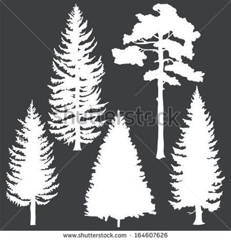 pine tree template free pine tree clip free vector 4vector scan n cut