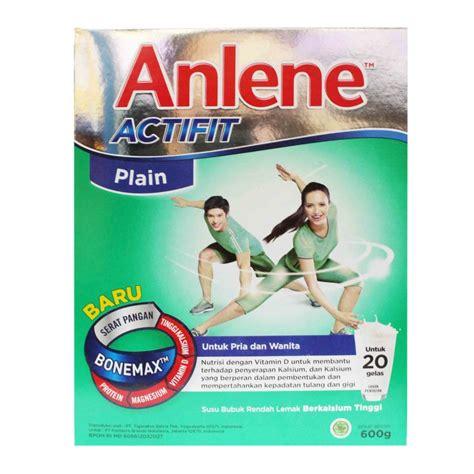 Anlene Gold 600gr Jual Anlene Actifit Plain 600 Gr Prosehat
