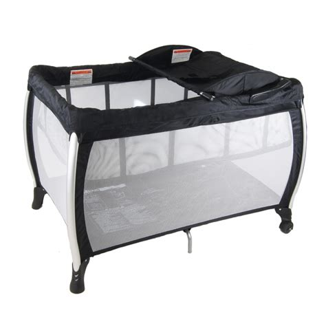 Portacot With Change Table Babyhood Travel Lite 3 In 1 Portacot Bubs N Grubs