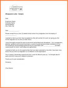 Weeks notice resignation letter template two weeks notice two weeks
