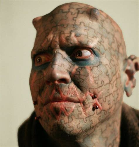 tattooed face tattoos damn cool pictures