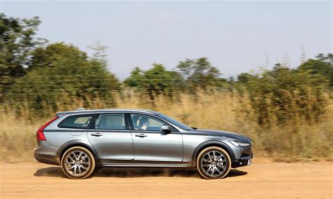 volvo road road test volvo v90 cross country d5 awd leisure wheels