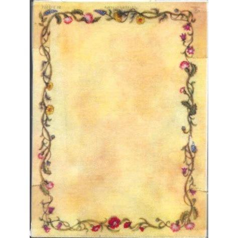 cornice per pergamena pergamena semplice con cornice cm 11x16