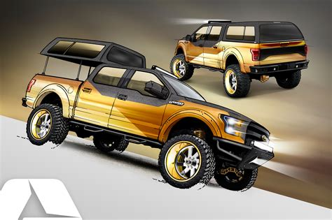concept truck 2016 sema preview ford f 150 concept trucks are cool