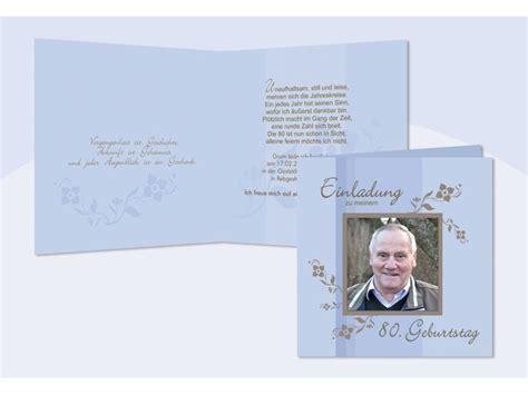 Muster Einladung Referent Einladung 80 Geburtstag Klappkarte 12 5x12 5 Cm Hellblau