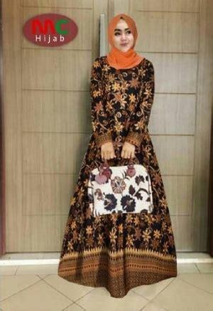 Baju Dress Gamis Ethica Gct 21 Toska baju gamis setelan motif batik modern model terbaru