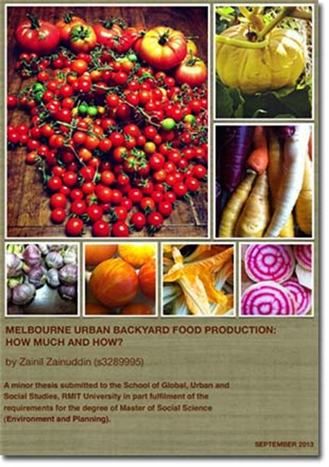 backyard food production urban backyard food production as a strategy for food