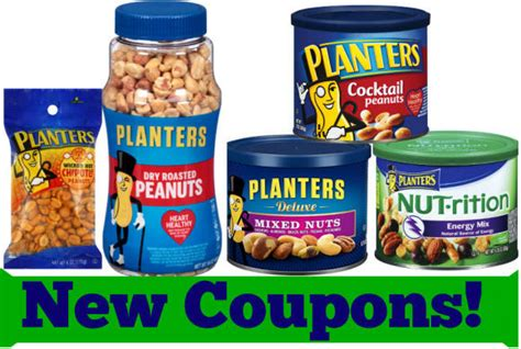 Planter Peanuts Coupons by New Coupons Planters Pearls More