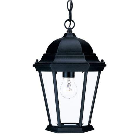 Richmond Lighting Fixtures Richmond Collection Hanging Lantern 1 Light Outdoor Matte Black Light Fixture 5206bk Elite