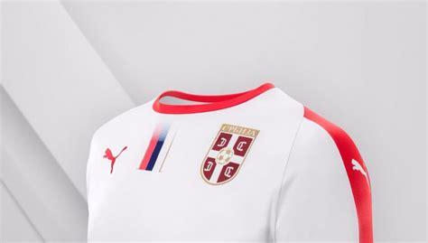 Serbia Mundial 2018 Serbia 2018 World Cup Away Kit Todo Sobre Camisetas