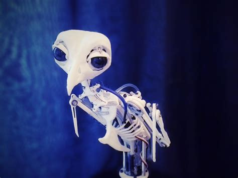 innerbreedfx  prints lifelike animatronic bird
