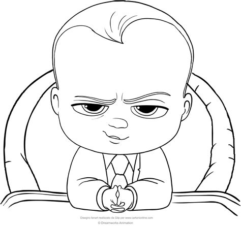 coloring pages baby boss boss baby coloring page