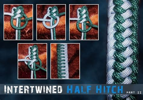 Intertwined Half Hitch   ParaCord Archive