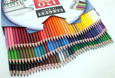 best coloring pencils sargent 120 assortment coloured
