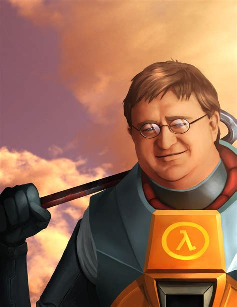 gabe newell biography com gabe newell the hero of us all by radulfgreyhammer on