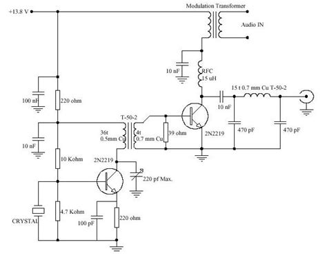 am broadcast transmitter block diagram designing low level am transmitter on my own time in