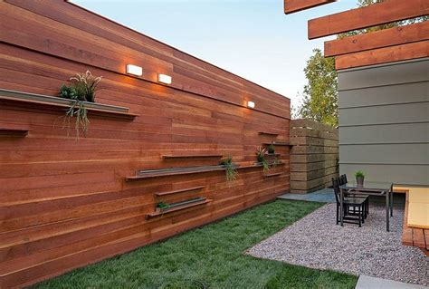 fences outdoor modern horizontal wood fence panels composite wood fence wood fence cost home design