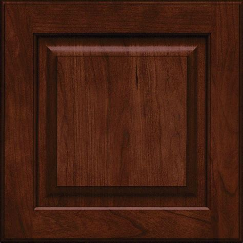 kitchen maid cabinet doors kraftmaid 15x15 in cabinet door sle in piermont cherry square with kaffe rdcds hd mtc4 kac