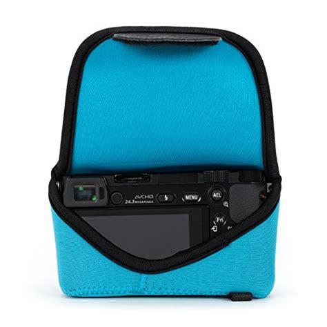 Kamera Sony Nex 5tl With Selp1650 Lens cases megagear ultra light neoprene bag