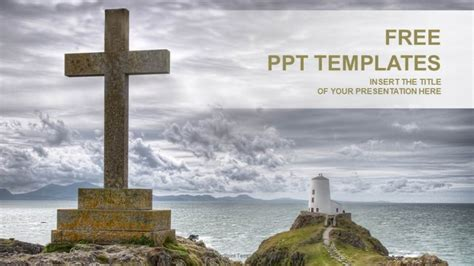 Catholic Cross-Religion PPT Templates 16:9 Powerpoint Christian Templates Free