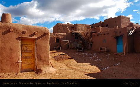 Pueblo Adobe Homes taos pueblo adobe houses hs6560