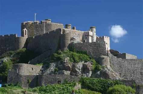 Jersey Castle mont orgueil castle gorey picture of jersey channel