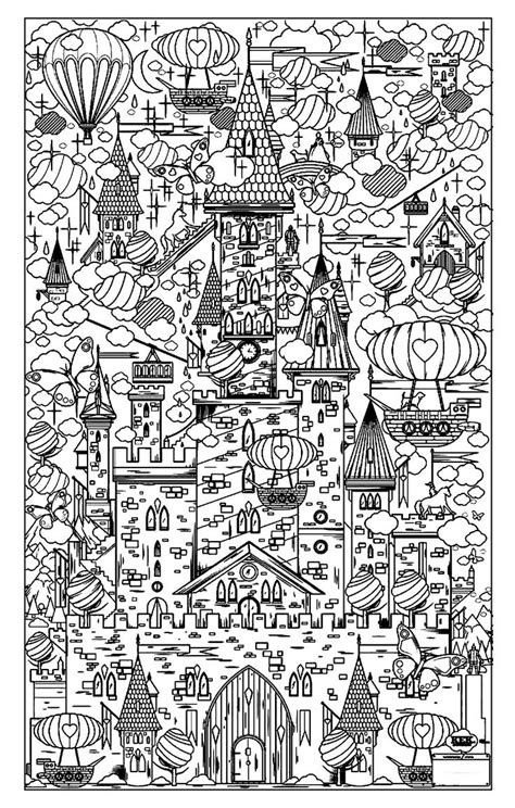 town coloring book stress relieving coloring pages coloring book for relaxation volume 4 books galerie de coloriages gratuits coloriage adulte