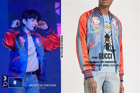 Harga Jaket Gucci til kece ini harga baju yang dipakai bts saat manggung