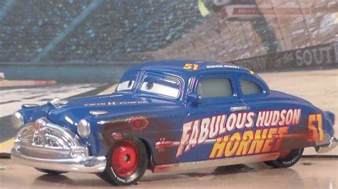 Mattel Disney Pixar Cars 3 Fabulours Doc Hudson cars 3 mattel dirt track fabulous hudson hornet disney