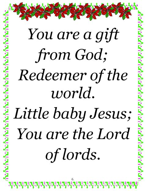 jesus poem children s gems in my treasure box baby jesus