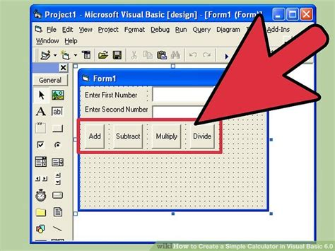 imagenes para visual basic 6 0 how to create a simple calculator in visual basic 6 0 15