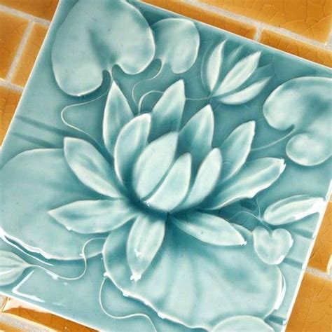 Handmade Porcelain Tile - 1000 images about pottery tiles on tile