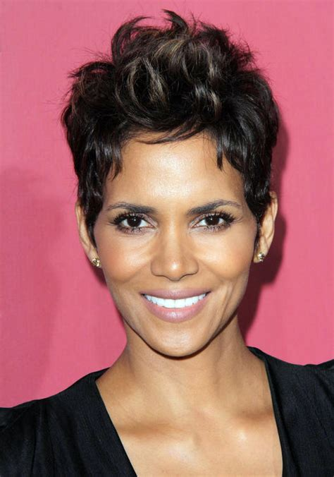 halle berry pixie side view best black hairstyles 12 celebrity looks that rock more com
