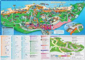 tourist attractions map singapore map sentosa island with universal studios