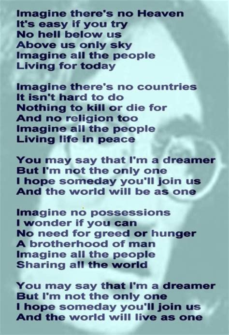 printable lyrics imagine amazing keychain viewer of john lennon imagine lyrics