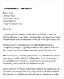 Teaching Assistant Letter Of Intent Letter Of Intent Formats 53 Exles In Pdf Word
